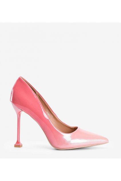 Dámske topánky lodičky ružové kód LE030P - GM