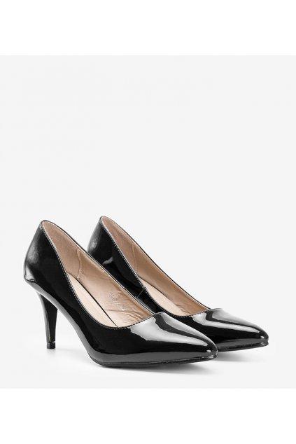 Dámske topánky lodičky čierne kód W910-1 - GM