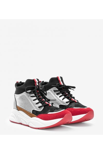 Dámske topánky tenisky čierne kód XY2639-1 - GM