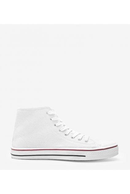 Pánske topánky tenisky biele kód B082-M - GM