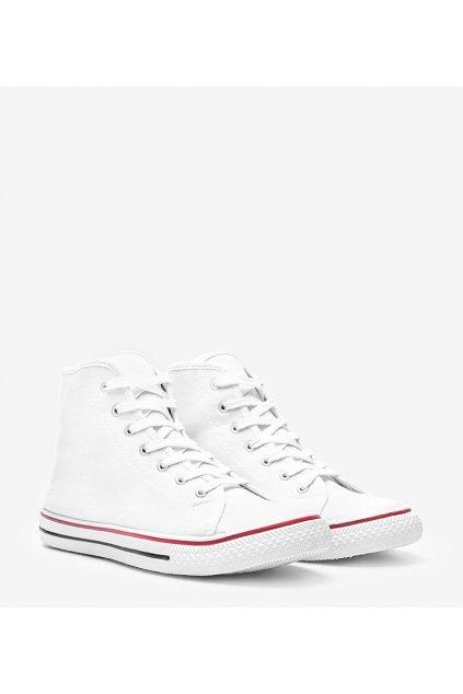 Dámske topánky tenisky biele kód B032-D - GM