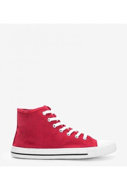 Pánske topánky tenisky červené kód B082-M - GM