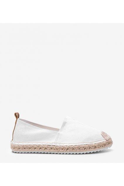 Dámske topánky espadrilky biele kód HH274493 - GM