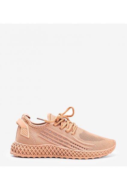 Dámske topánky tenisky hnedé kód JH-10 - GM
