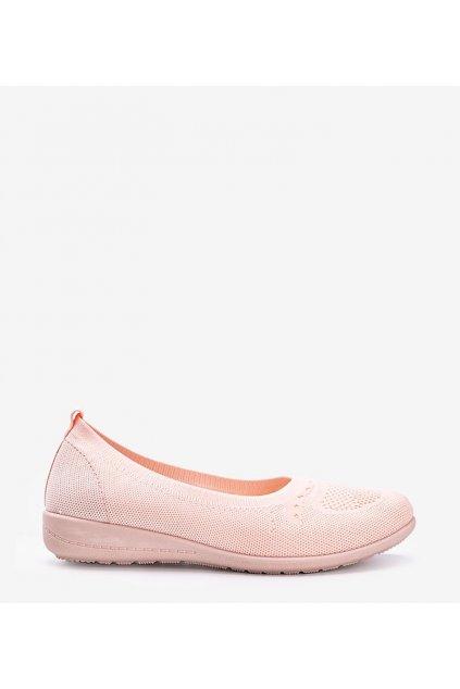 Dámske topánky tenisky ružové kód ZK125 - GM