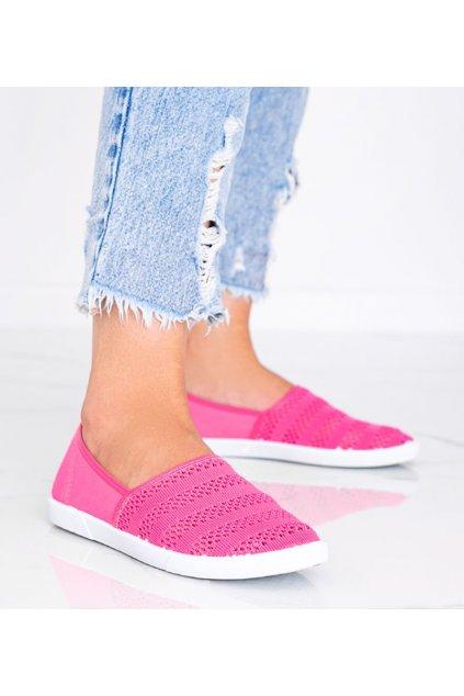 Dámske topánky tenisky ružové kód 18W1-6 - GM