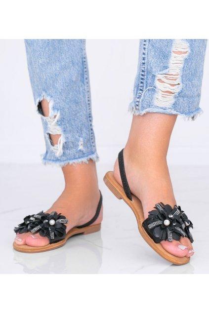 Dámske topánky sandále čierne kód FM852 - GM
