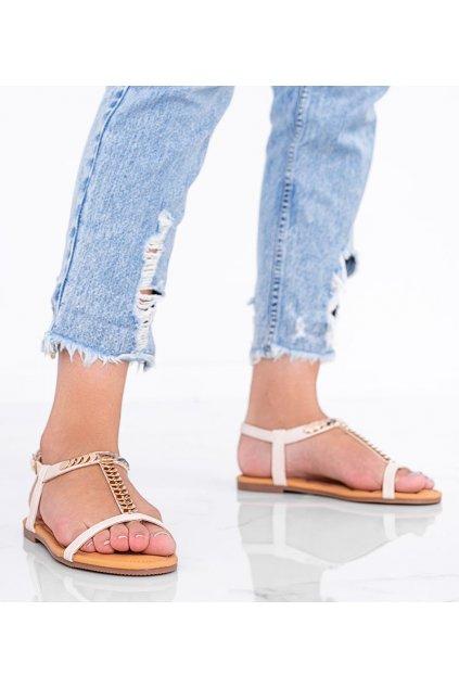 Dámske topánky sandále hnedé kód AG202-3 - GM