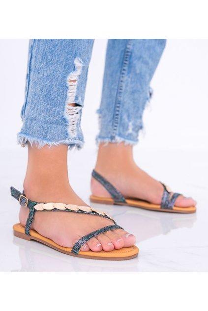 Dámske topánky sandále čierne kód AG204-1 - GM