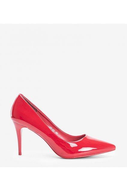 Dámske topánky lodičky červené kód LEI-83 - GM