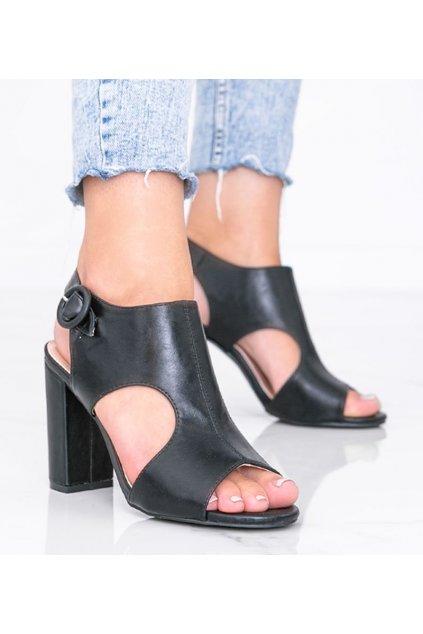 Dámske topánky sandále čierne kód SL100P - GM