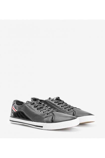 Pánske topánky tenisky sivé kód FH0060 - GM