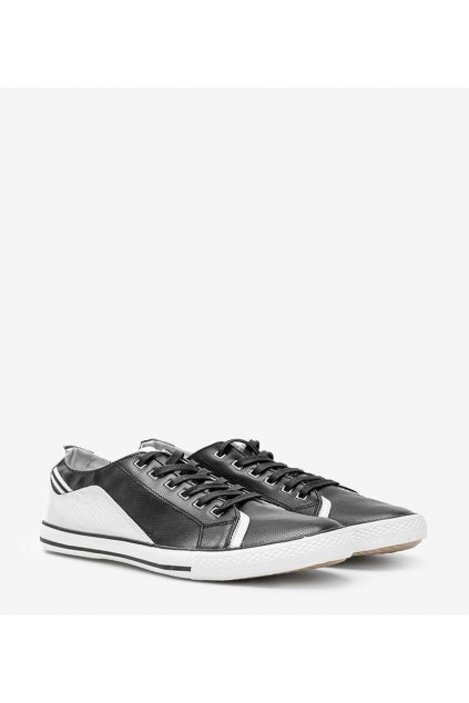 Pánske topánky tenisky čierne kód FH0060 - GM