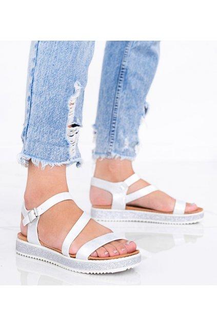 Dámske topánky sandále biele kód 9022-20 - GM