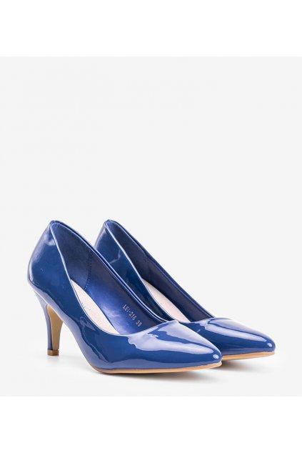 Dámske topánky lodičky modré kód LEI-216 - GM