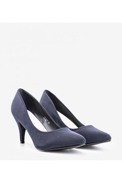 Dámske topánky lodičky modré kód YS-509 - GM