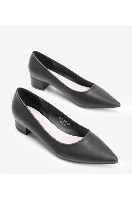 Dámske topánky lodičky čierne kód LEI-322 - GM