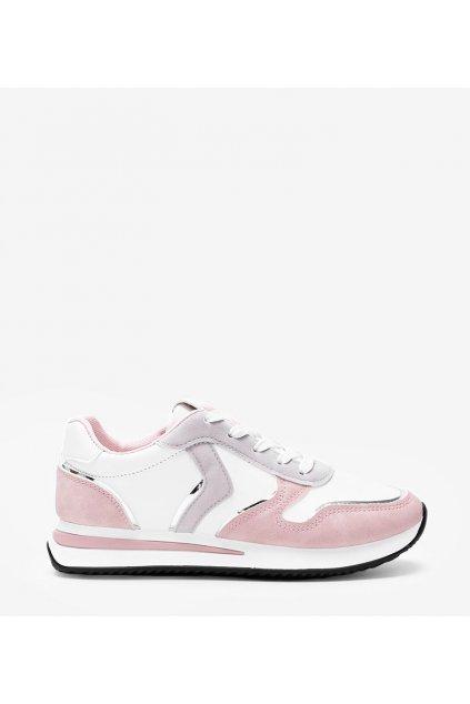 Dámske topánky tenisky ružové kód 1092 - GM