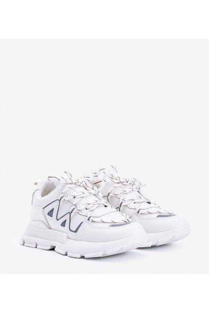 Dámske topánky tenisky hnedé kód 9932 - GM