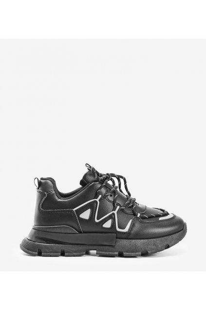 Dámske topánky tenisky čierne kód 9932 - GM