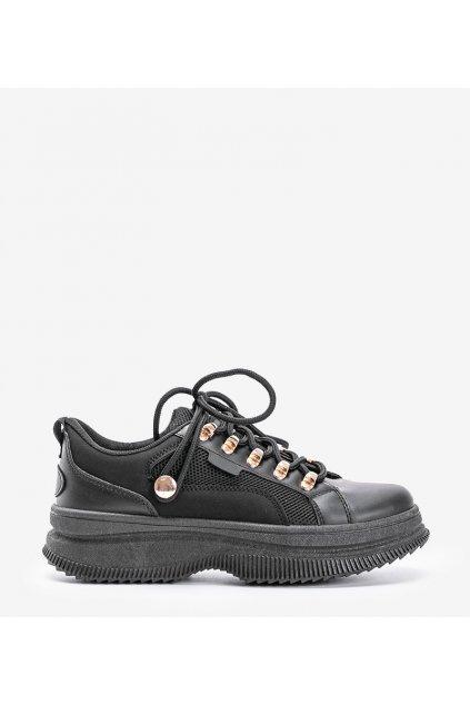 Dámske topánky tenisky čierne kód 2060 - GM