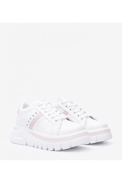 Dámske topánky tenisky hnedé kód G-25 - GM