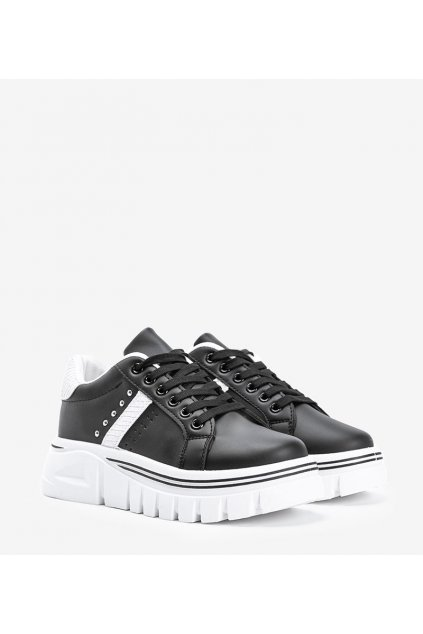 Dámske topánky tenisky čierne kód G-25 - GM