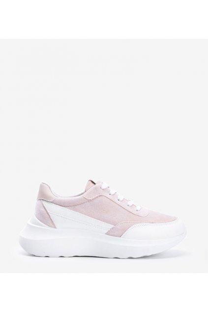 Dámske topánky tenisky hnedé kód LHD-21 - GM