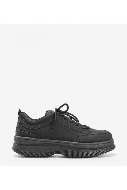 Dámske topánky tenisky čierne kód T13YD2310-2 - GM