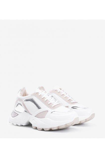 Dámske topánky tenisky hnedé kód YM-170 - GM