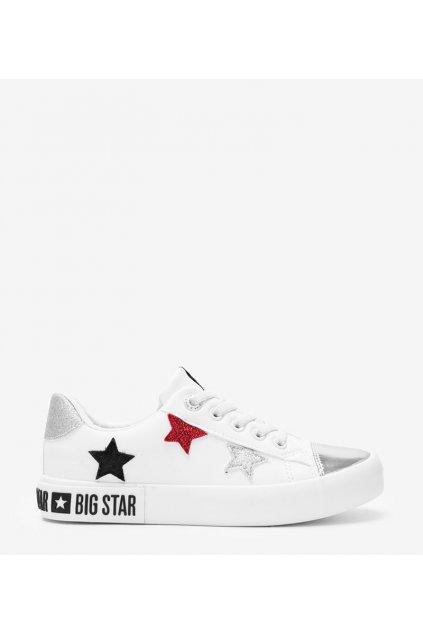 Dámske topánky BS biele kód II374032 - GM