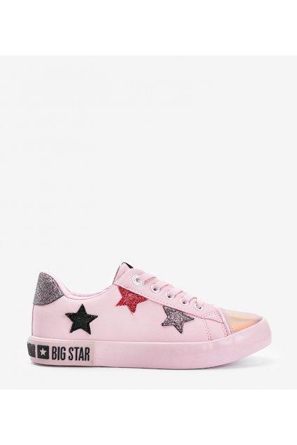 Dámske topánky BS ružové kód II374033 - GM