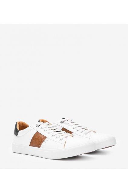 Dámske topánky BS biele kód II174037 WHITE - GM