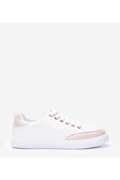 Dámske topánky tenisky biele kód 6110 - GM