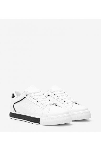 Dámske topánky tenisky biele kód A88-86 - GM