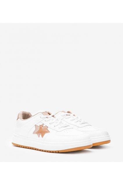 Dámske topánky tenisky hnedé kód 6138 - GM