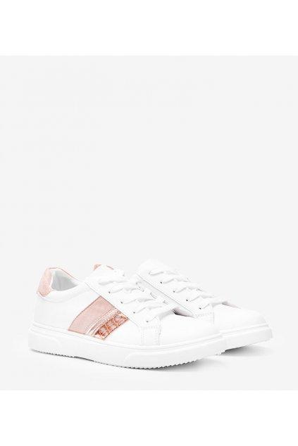Dámske topánky tenisky ružové kód F038 - GM