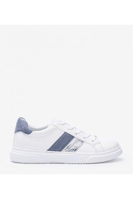 Dámske topánky tenisky biele kód F038 - GM
