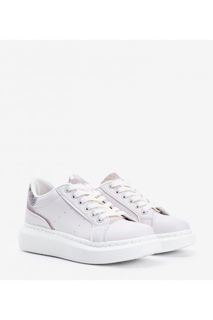 Dámske topánky tenisky hnedé kód C2021 - GM