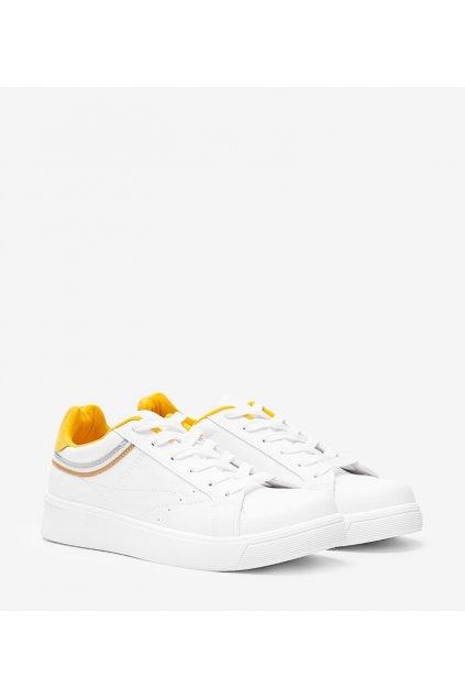 Dámske topánky tenisky žlté kód B0-686 - GM