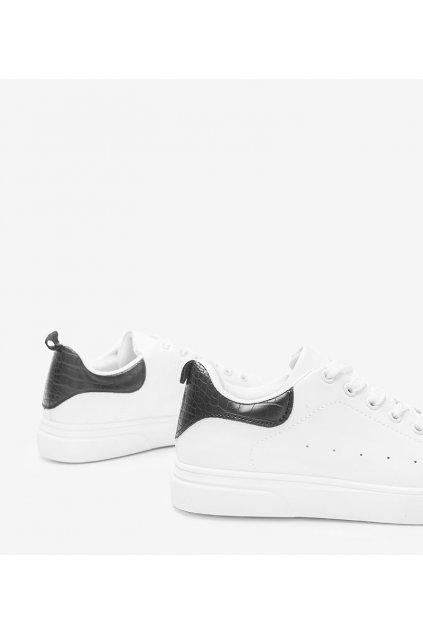 Dámske topánky tenisky biele kód A2353 - GM