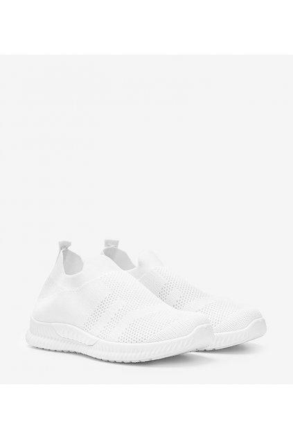 Dámske topánky tenisky biele kód SP882 - GM