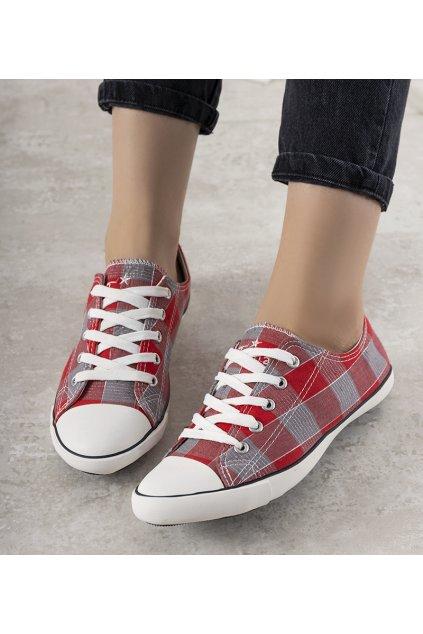 Dámske topánky tenisky červené kód HC-0905 - GM