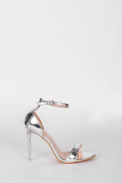 Dámske topánky sandále sivé kód - GM