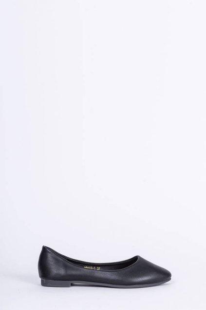 Dámske baleríny čierne kód - GM