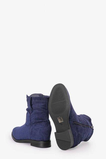 Dámske členkové topánky modré kód - GM