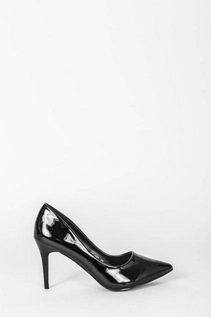 Dámske topánky lodičky čierne kód - GM