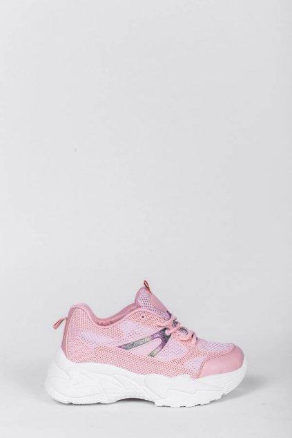 Dámske topánky tenisky ružové kód - GM