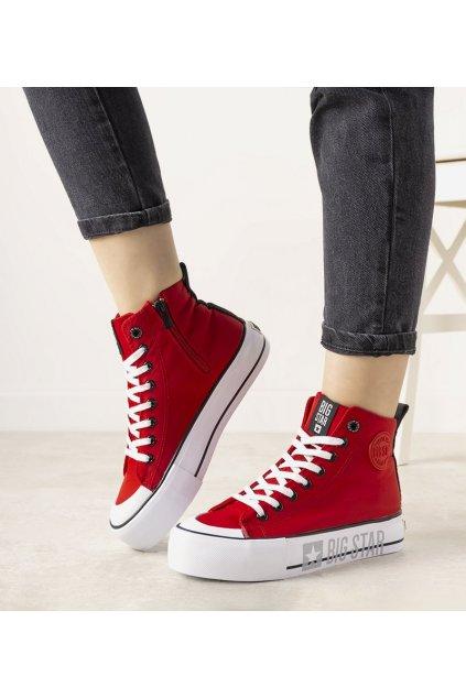 Dámske topánky BS červené kód II274018 - GM