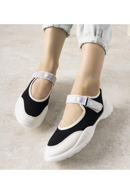 Dámske topánky tenisky biele kód WH3101 - GM